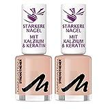 Manhattan Last und Shine Nail Strenghtener, Nr. 000, 2er Pack (2 X 12 ml)