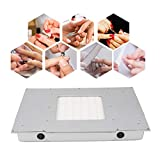 Qinlorgon 48W Desktop Nagel Staubsauger, High Power Desktop Embedded Filter Maniküre Pediküre Kunst Ausrüstung für ASlle Nagelaktivitäten (Qualitätsprodukt)