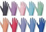 Einmalhandschuhe PEARL ColorLine von Unigloves, Nitril, verschiedene Farben Red S small