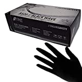 Schwarze Nitril Handschuhe Nitras'Black Wave' 100 Stück Größe XL