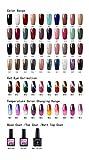 Saint-Acior 60 Trend Farben Gel Lacken Thermo- Cateye-Effekt Nagellack UV Gel Lacken Nagellacks Set Led Gellack Farbgelen Set-Wählen Sie 10 Sortimente-