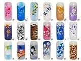 Airbrush-Tips Muster-Set (35 verschiedene Tips)