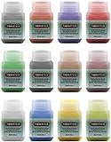 Timbertech Acrylfarben Airbrush Farben 12 * 30ml Model Air Basis Bunt Metallic FarbenSet Airbrushfarben