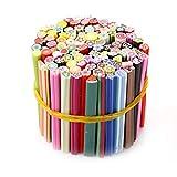 100 Stück Nail art Sticks 3D Designs Nailart Maniküre Fimo Sticks Stangen Aufkleber Gel Tipps Make Up Werkzeug