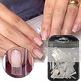 Nagelverlängerung, Fiberglas, künstliche Fingernägel, UV-Gel-Maniküre, künstliche Fingernägel, Nagelspitzen für Nagelstudios