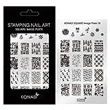 Konad Stamping Schablone XL 10