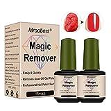 Nail Polish Remover, Magic Nagellackentferner, Gel-Nagellackentferner, Nagellackentferner, Nail Remover, Nagellackentferner mit natürlichen Inhaltsstoffen zum Entfernen von Nagellack von Nägeln