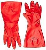 Ansell Sol-Vex 37-900 Nitril Handschuhe, Chemikalien- und Flüssigkeitsschutz, Rot, Größe 10 (12 Paar pro Beutel)