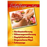 net-xpress Werbeplakat für professionelle Fußpflege DIN A1, Plakat Poster Nagelstudio