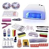 UV-Gel-Starter-Kit UV-LED Kombi Gerät, Nagelzubehör, Nagelkunst, Nagelstudio-LED-Leuchten