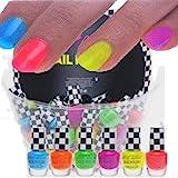 6x farben Brillianter Neon Nagellack  Nail Polish Party Brights WoW 6x 4,5ml