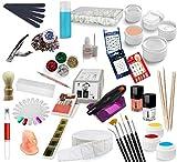 UV Gel Starterset Nagelstudio Nagelfräser Farbgele Nailart EuBeCos (400 mit Fräser)