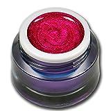 5ml Glittergel Explosion Pink - Rot Premium Farbgel