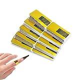 Nagel-Schablonen (200 Stück), Modellier-Schablone selbstklebend für Gel-Nägel & Nagel-Verlängerung Golden Schablonen …
