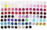 1x 5ml Colorgel High Line Serie LED und UV härtend, sehr hohe Deckkraft #100 schwarz