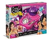 Clementoni 15770.9 Crazy Chic – Nagelstudio, Kreativspielzeug für farbenfrohe Nailart, mit Glitzer, Klebesteinen & bunten Nagellacken, Maniküre-Set für Kinder ab 6 Jahren