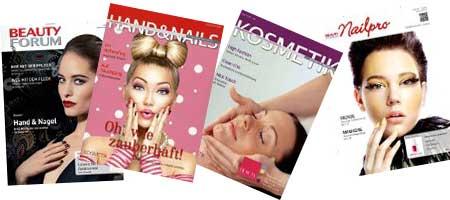 Naildesign Fachzeitschriften